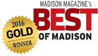Madison Magazine's Best of Madison 2016 Gold Winner