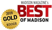 Madison Magazine's Best of Madison 2018 Gold Winner